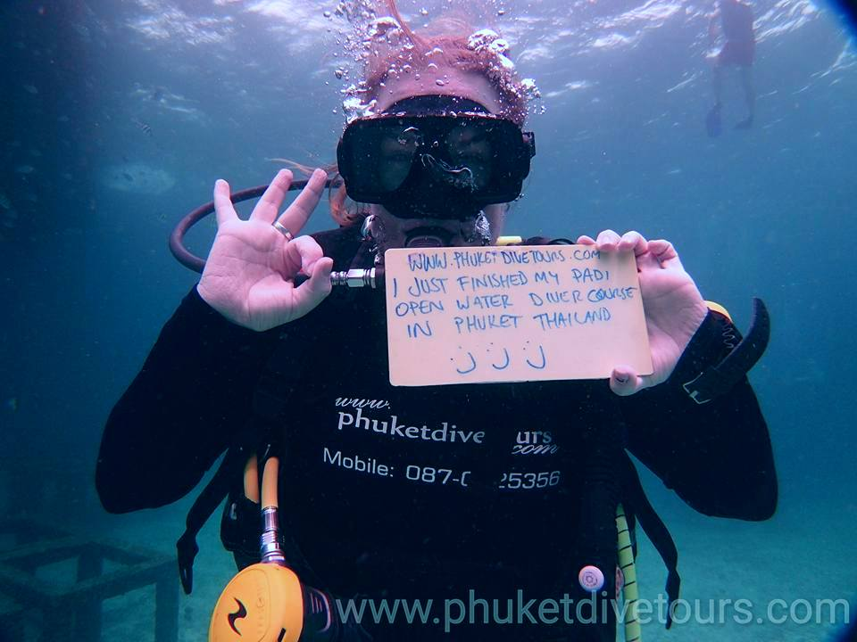 Padi Open Water Diver Course 10000 Thb With Phuket Dive Tours