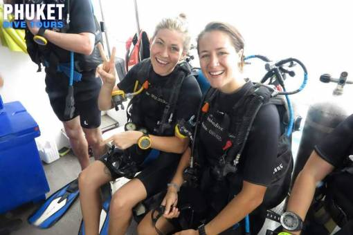 Phuket Divers Let your Adventure Begin getting ready to dive