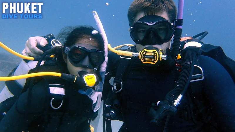 Scuba Diving for First Time Beginners 3800 THB - Phuket Dive