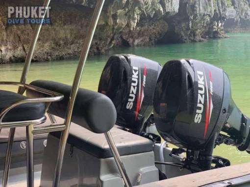 Phuket Private Speedboat Diving Charter