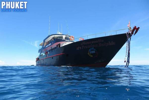 Phuket dive tours to Racha Yai