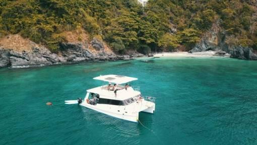 Phuket diving catamaran charter