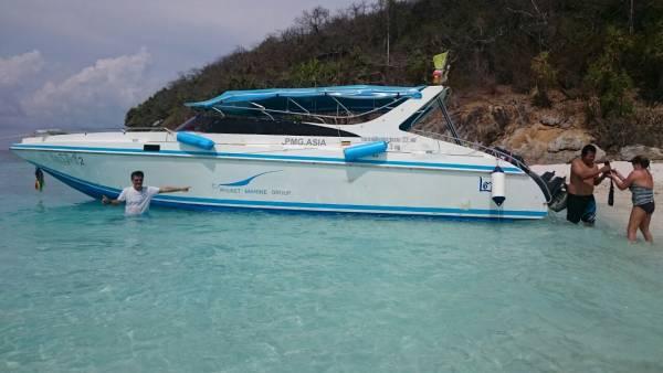 Phuket private charter speedboat