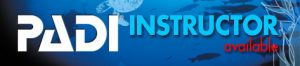 PADI open water course Instructor available