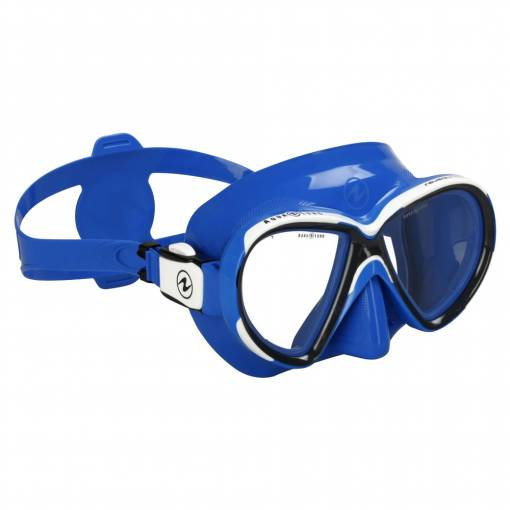 Aqualung Reveal X2 diving mask blue white