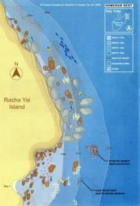 "Racha Yai Scuba Diving ""Homerun reef"" dive-site"