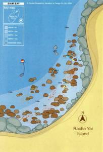 Racha Islands Scuba Diving Siam Bay dive site