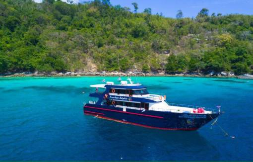 Racha Noi scuba Diving boat