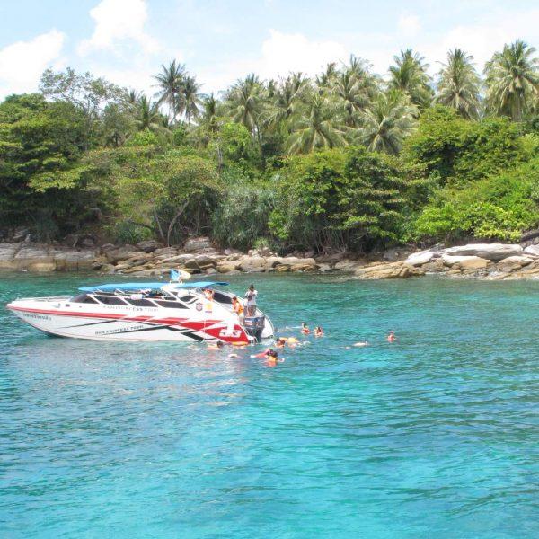 Racha Yai islands snorkeling day trip tour by boat - Phuket Dive Tours