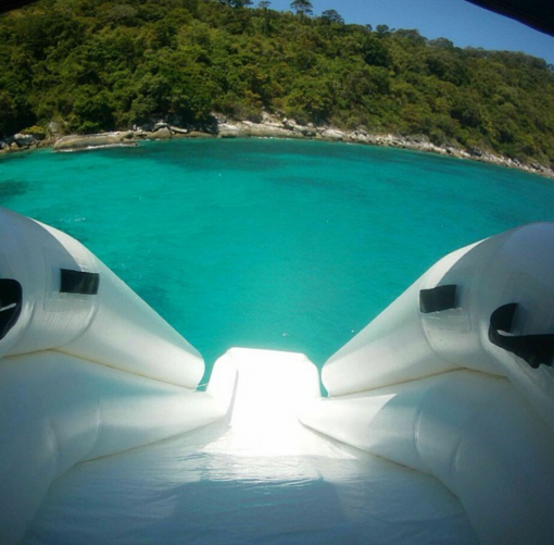 Racha yai Snorkeling trip with water slide