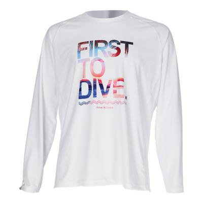 Aqualung Rash guard long sleeve first to dive