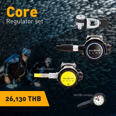 Aqualung Core Scuba Regulator Set