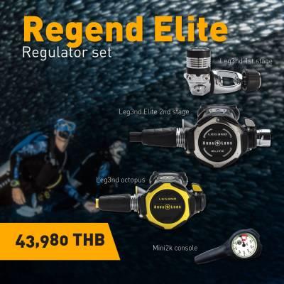 Aqualung Leg3nd Elite Scuba Regulator Set