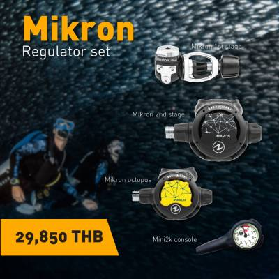 Aqualung Micron Scuba Regulator Set
