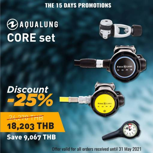 Core regulator set discount -25%- sale