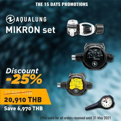 regulator set discount -25% -sale