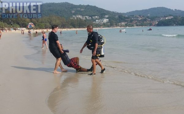Rescue dive course in Phuket