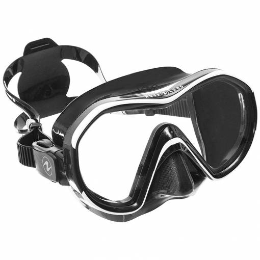 Aqualung Reveal X1 diving mask black white