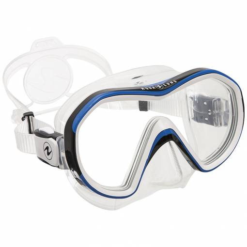 Aqualung Reveal X1 diving mask clear blue