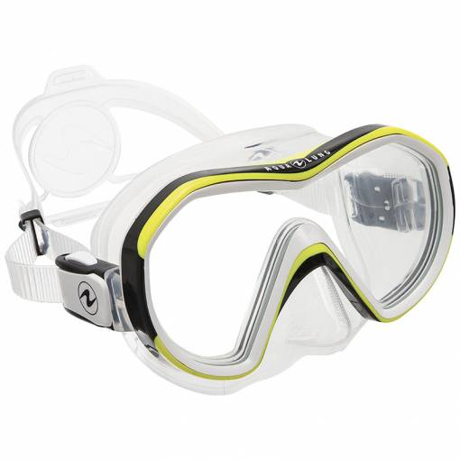 Aqualung Reveal X1 diving mask clear yellow