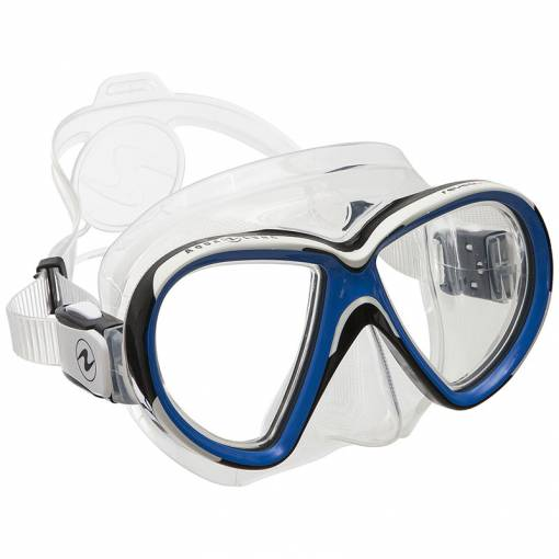 Aqualung Reveal X2 diving mask clear blue