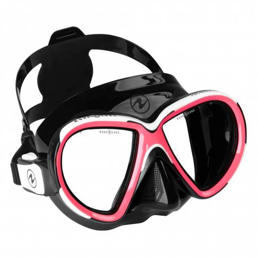 Aqualung Reveal X2 diving mask Black Pink