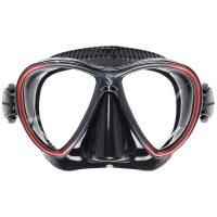 SCUBAPRO Synergy Twin Mask – Black Red – X24.713.310
