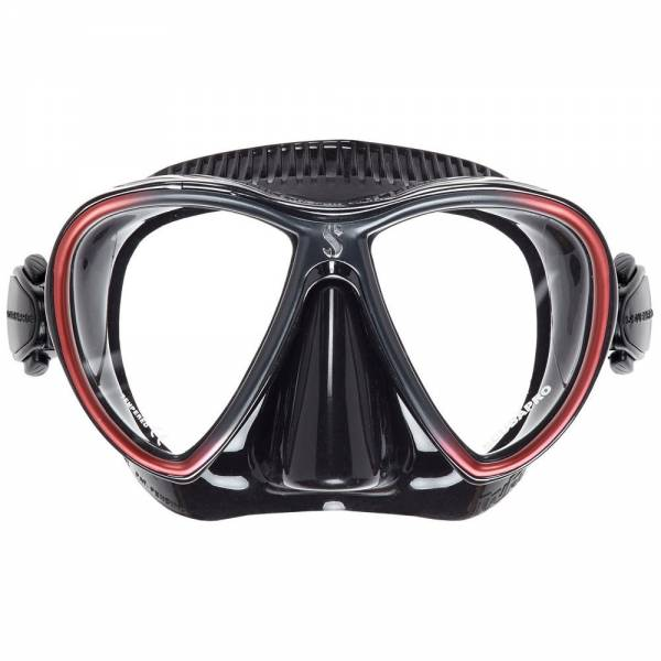 SCUBAPRO Synergy Twin Mask - Black Red - X24.713.310