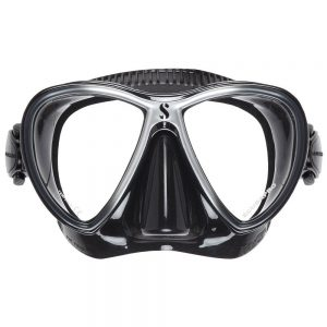 SCUBAPRO Synergy Twin Mask in Black Silver