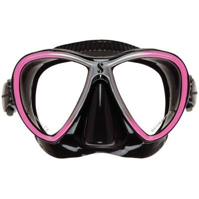 SCUBAPRO Synergy Twin Mask - Black Solid Pink - X24.713.730