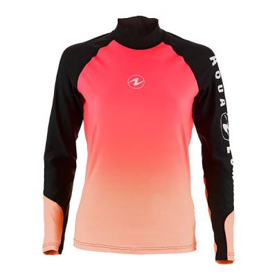 Aqualung Rash guard long sleave Souffle Pink Women