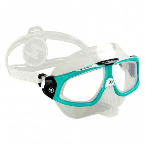 Aqualung SPHERA X diving mask Silicone Clear Glacier