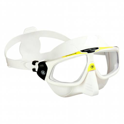 Aqualung SPHERA X diving mask Silicone White Yellow