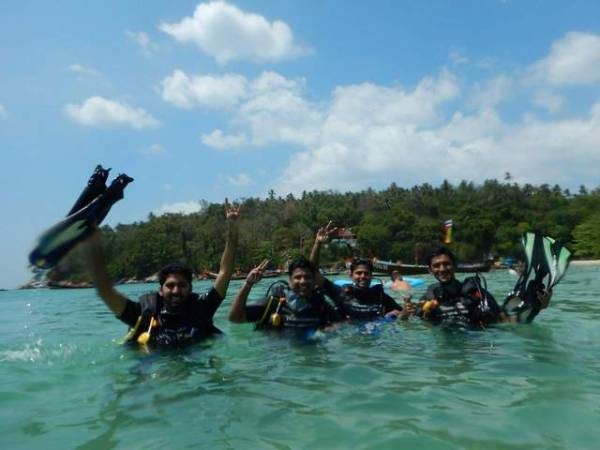 Scuba Diving for Beginners at Kata Beach Phuket