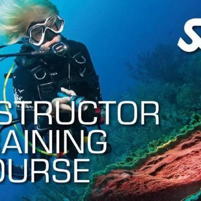 Scuba Instructor training course phuket