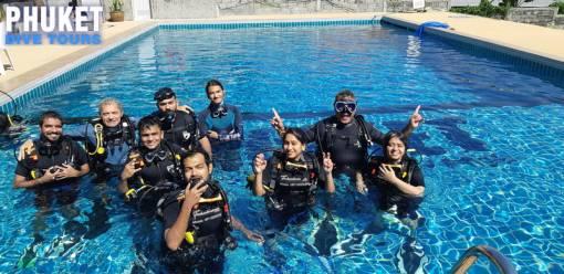 Scuba diving Phuket basic diver course