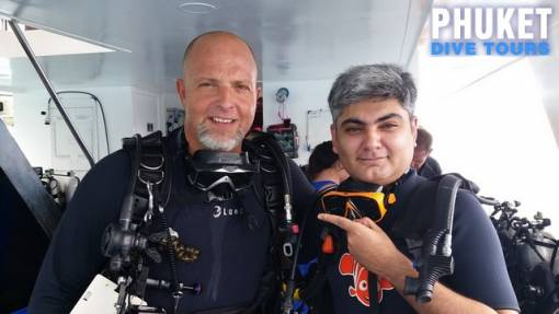 Scuba diving for beginners in Phuket