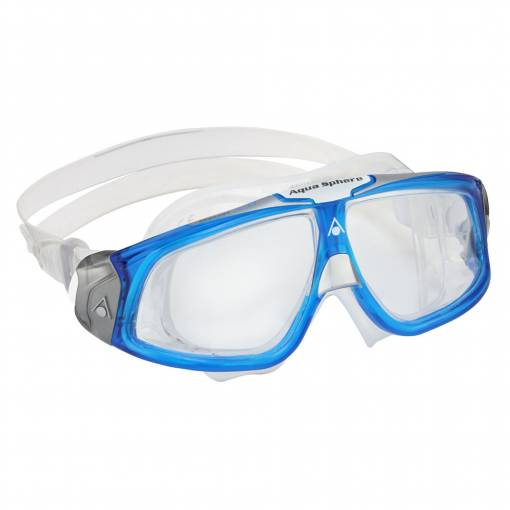 Seal 2 swimming goggles clear lens blue frame