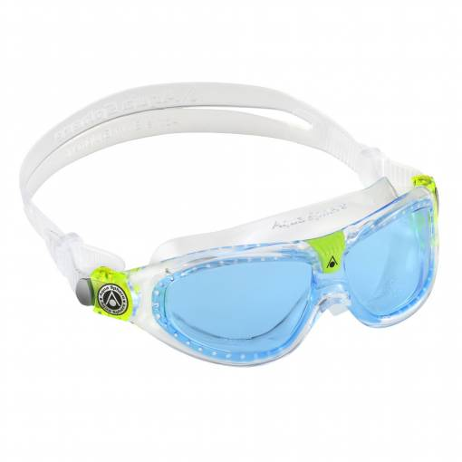 SealKid2 kids swimming goggles Blue Clear lime