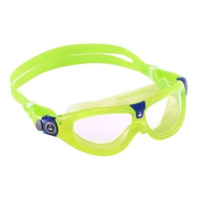 Seal Kid2 kids swimming goggles Clear lime blue