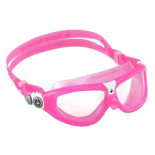 Seal Kid2 kids swimming goggles Pink White