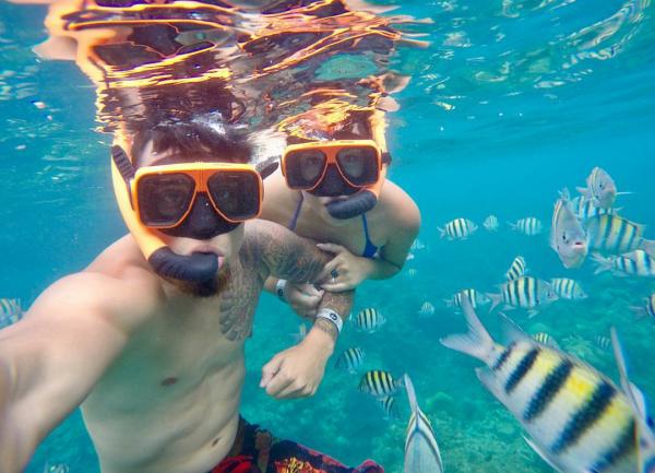 Snorkeling in Phuket half day trips at Racha Yai island