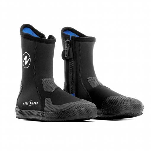 Aqualung Superzip Scuba diving boots foot protection