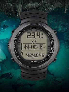 Suunto watch sized dive computers