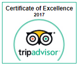 Trip Advisor Certificate of Excellence 2017 - Phuket Dive Tours