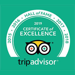 Trip-Advisor Certificate of Excellence - Hall of fame - Phuket-Dive-Tours