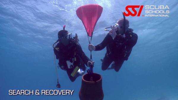 Underwater search and recovery course Phuket