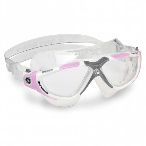 Vista swimming goggles clear white grey