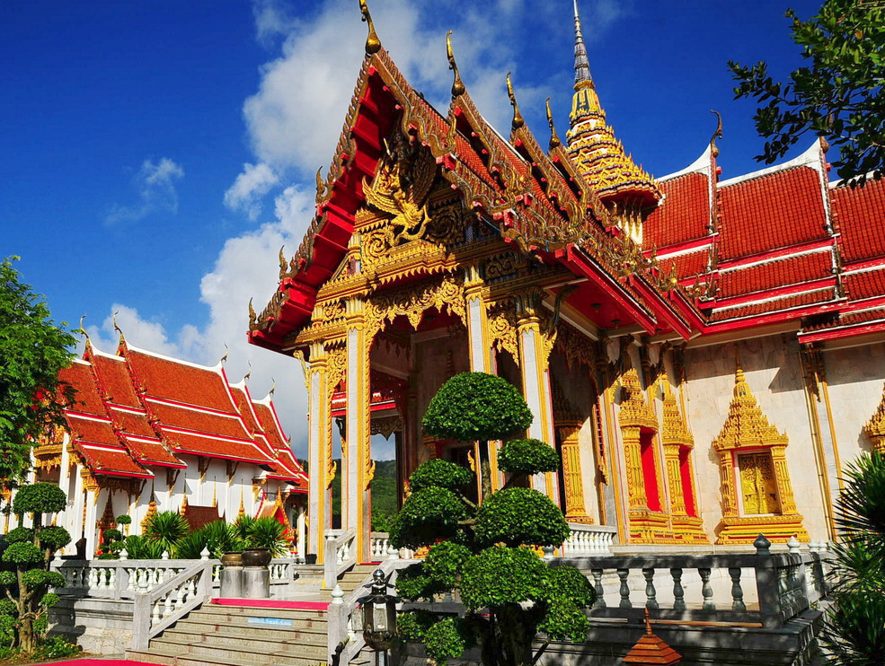 WAT Chalong temple - PHUKET