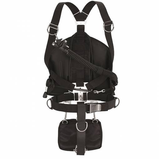 Apeks WSX Sidemount harness Assembled